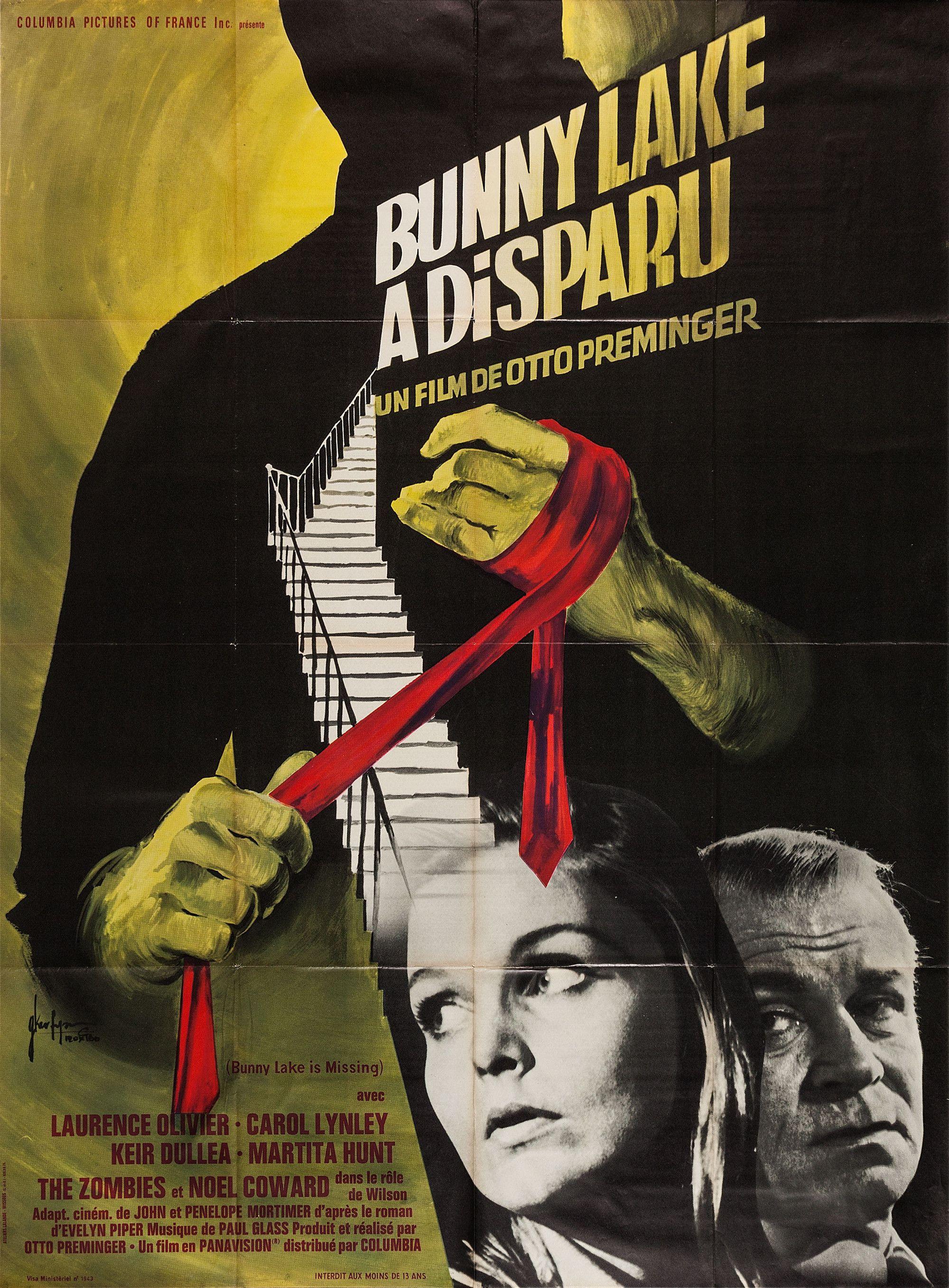 affiche Bunny Lake a disparu (1965) d'Otto Preminger