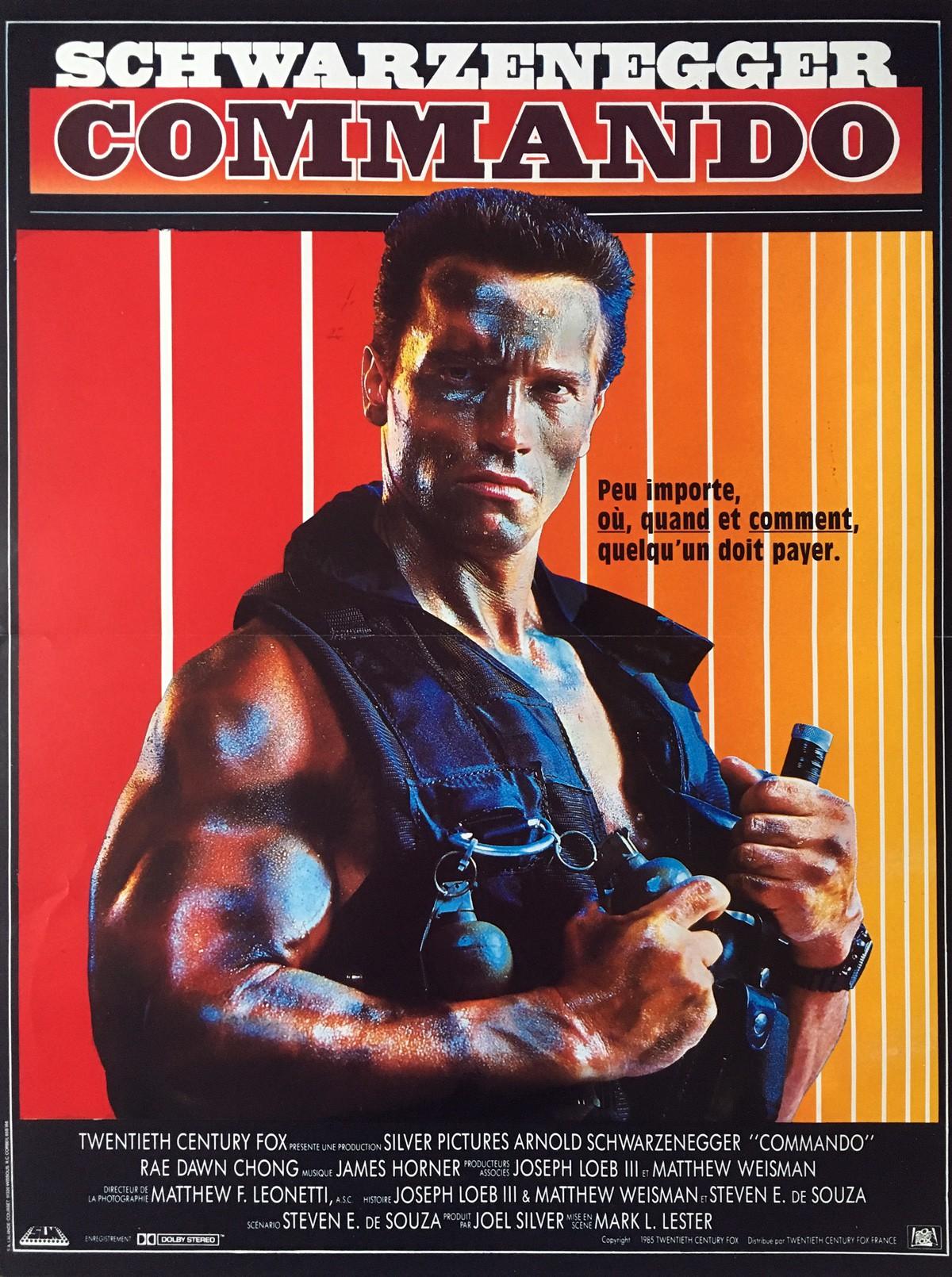 affiche Commando (1985) de Mark L. Lester