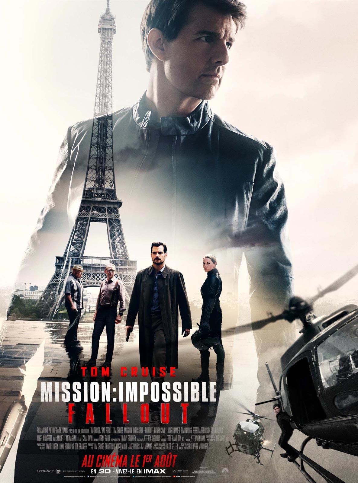 Mission : Impossible – Fallout (2018) de Christopher McQuarrie