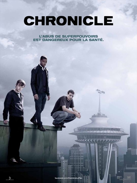 Chronicle (2012) de Josh Trank _ affiche