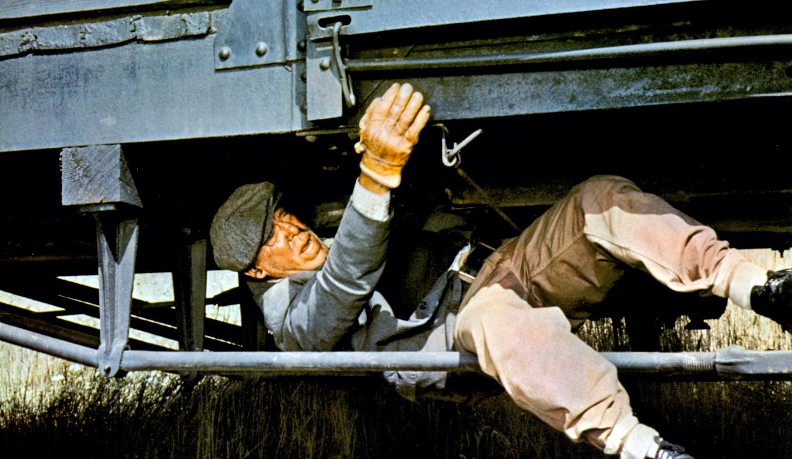 lee marvin dans L'Empereur du Nord (1973) de Robert Aldrich