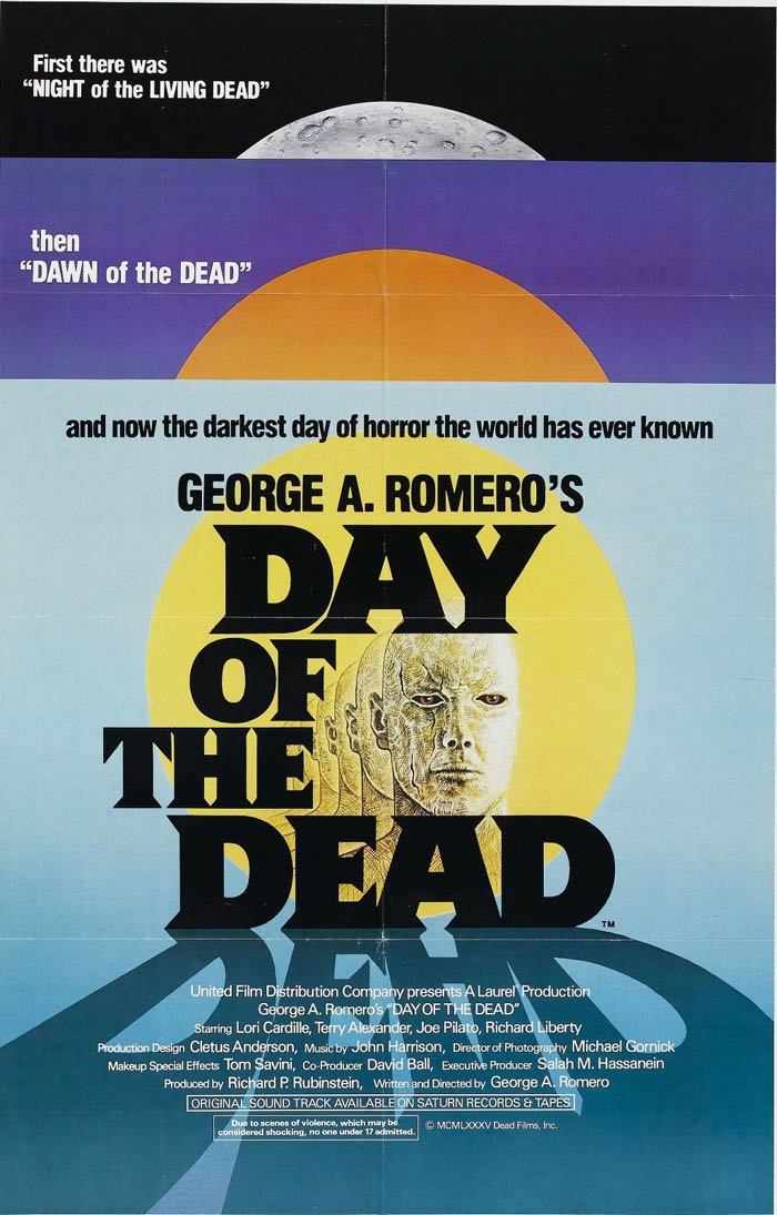 LE JOUR DES MORTS-VIVANTS de George Romero