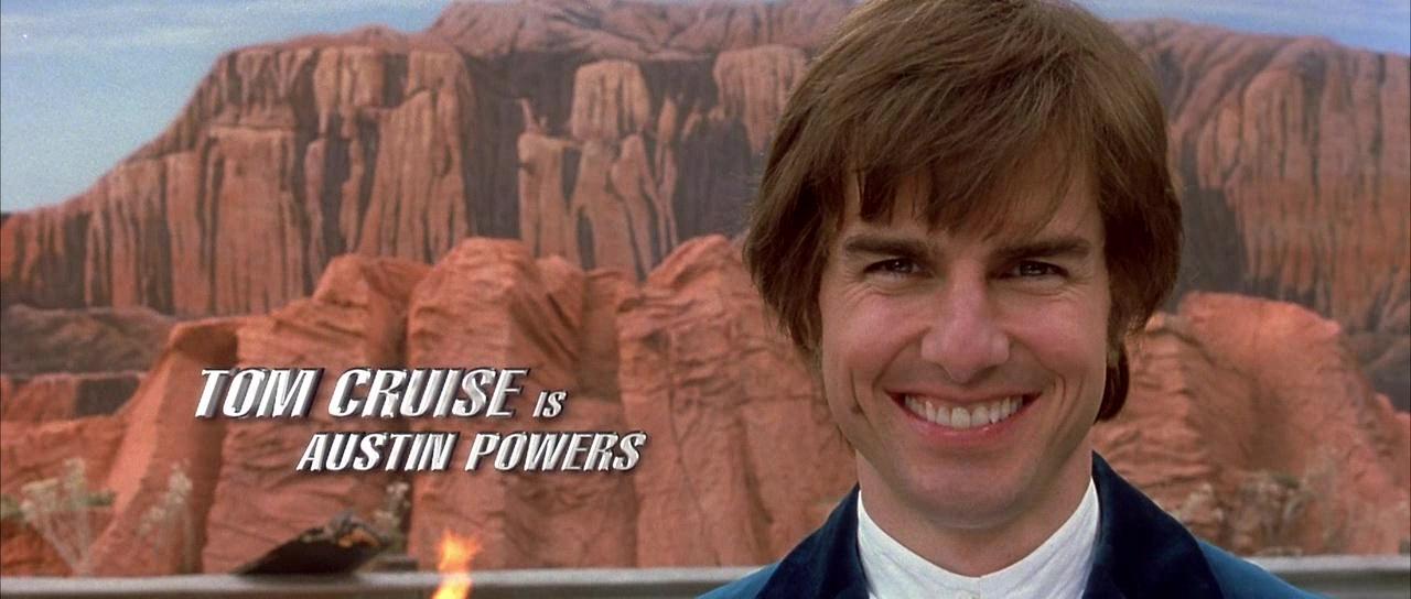 tom cruise dans austin powers goldmember