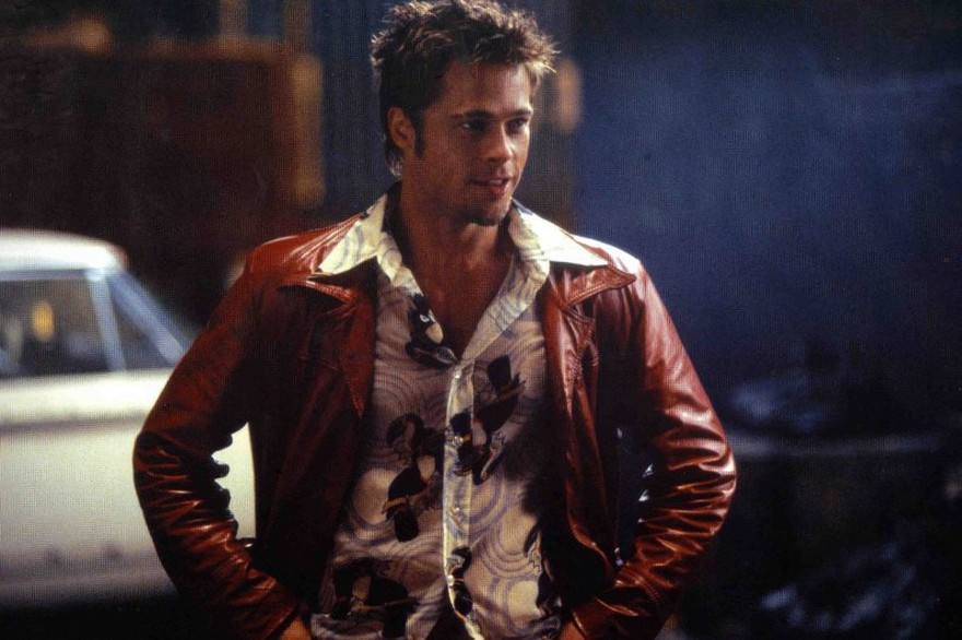 Brad Pitt dans Fight club (1999)