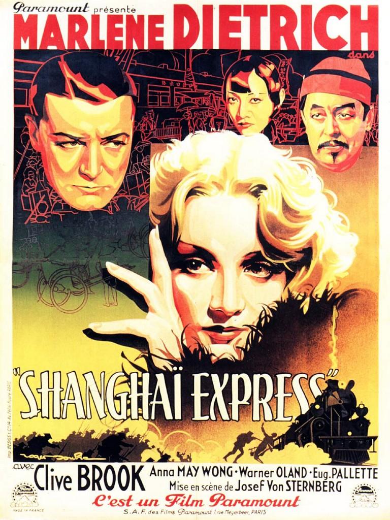 affiche de Shanghaï Express (1932) de Josef von Sternberg