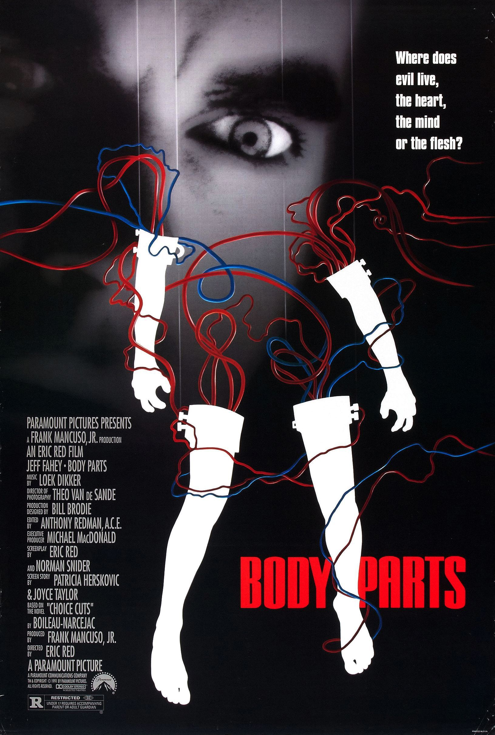 Body parts (1991) d'Eric Red