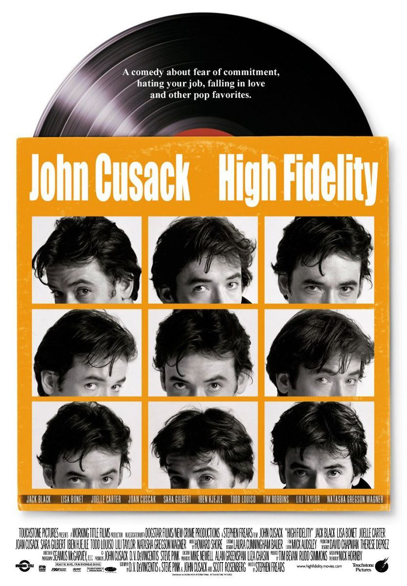 HIGH FIDELITY de Stephen Frears