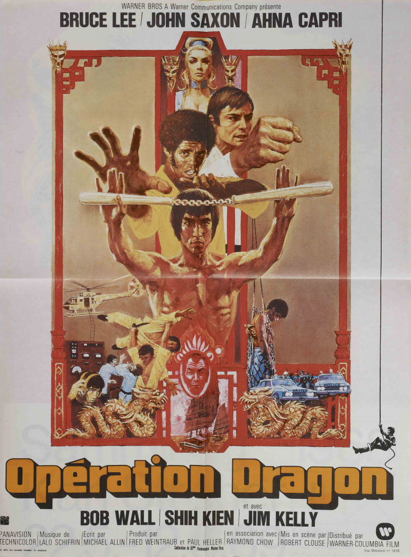 Opération Dragon (1973) de Robert Clouse