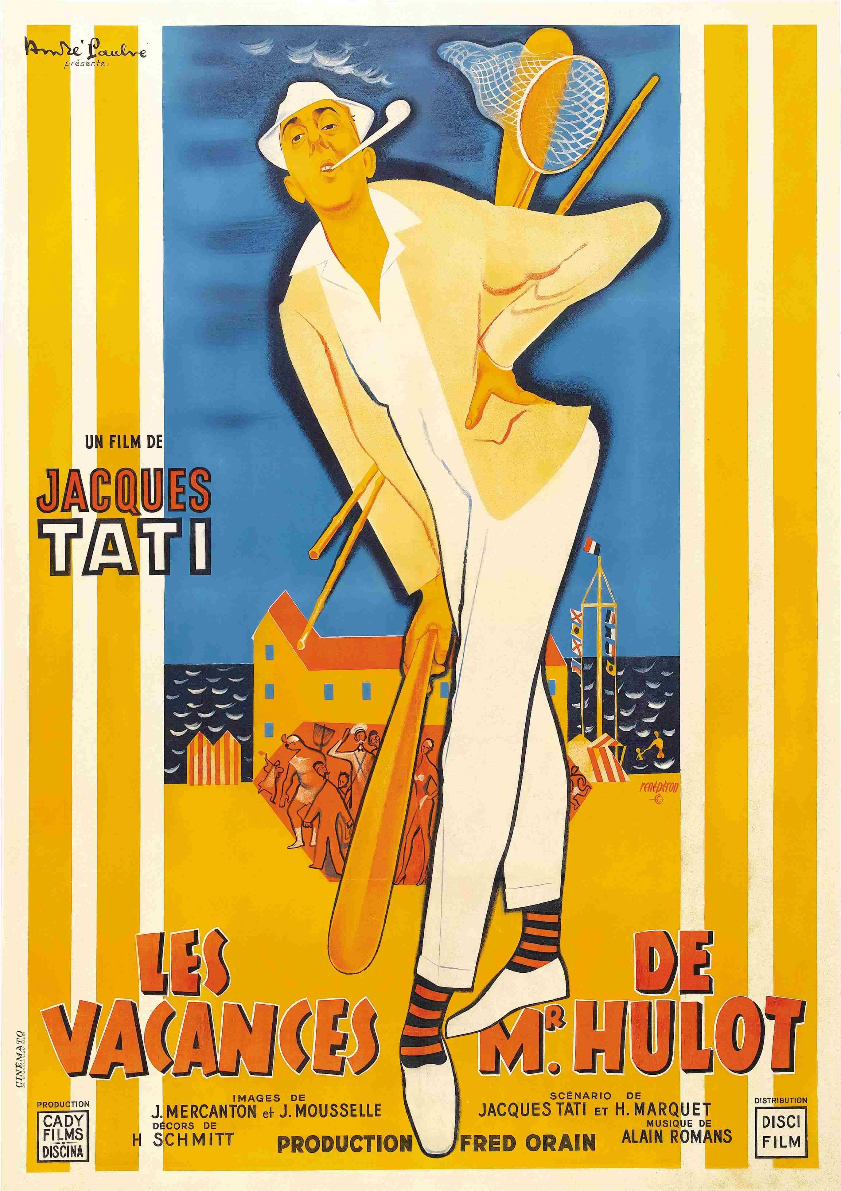 Les Vacances de Mr. Hulot (1951) de Jacques Tati