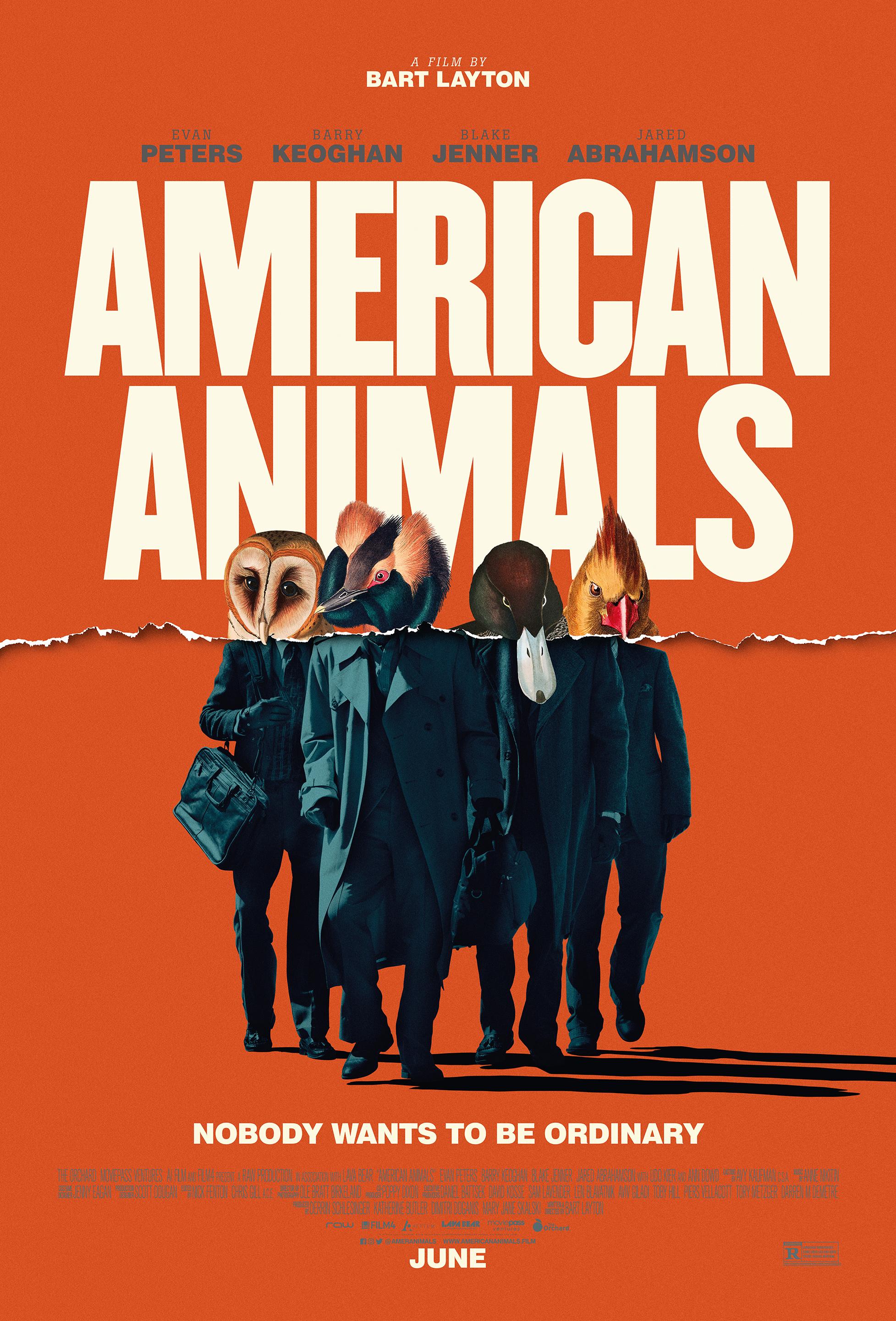 American animals de Bart Layton
