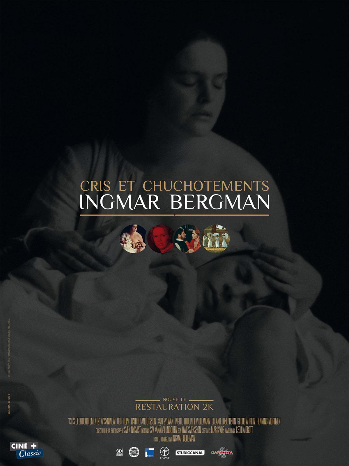 Cris et chuchotements d'Ingmar Bergman