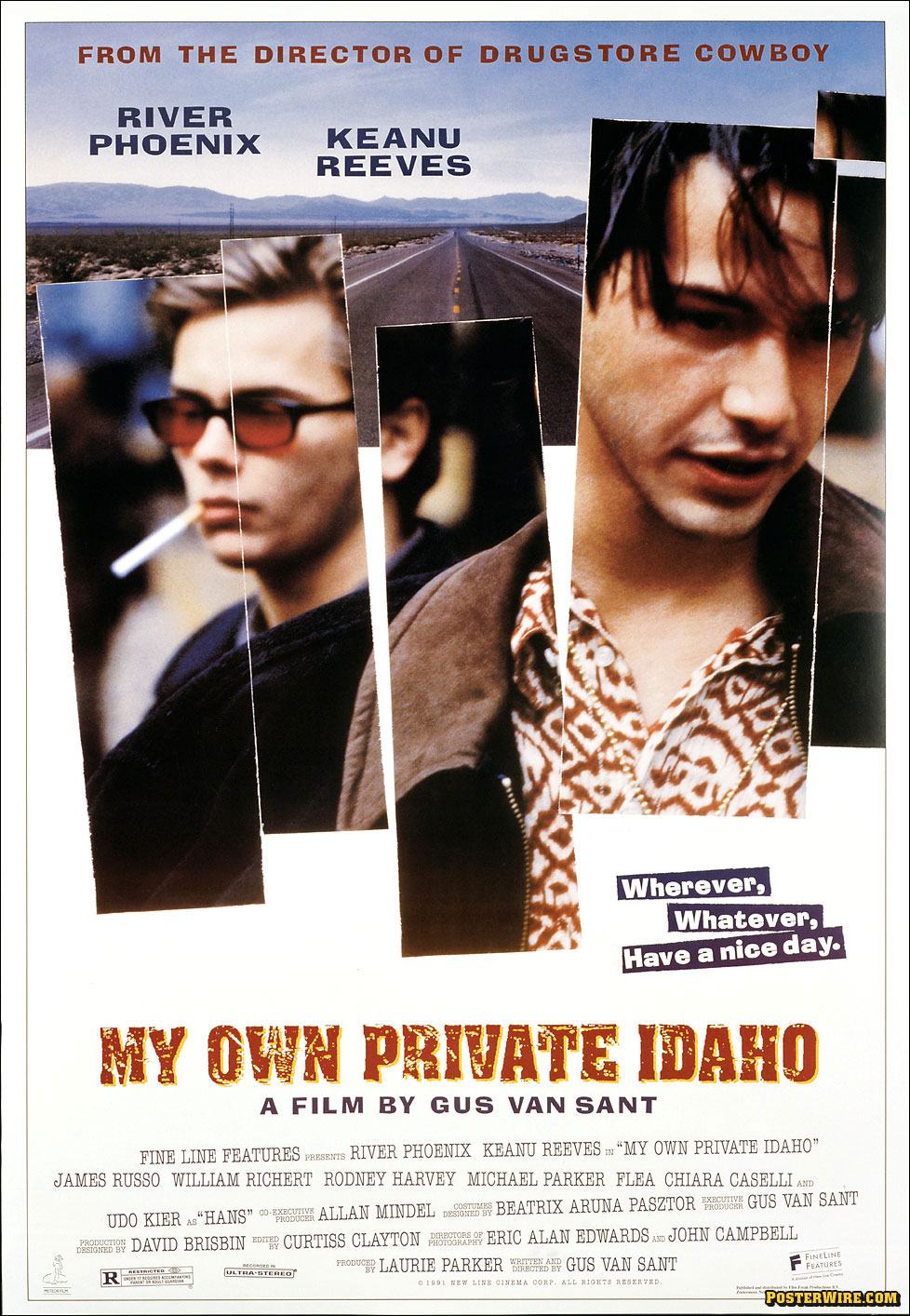 My own private Idaho de Gus Van Sant