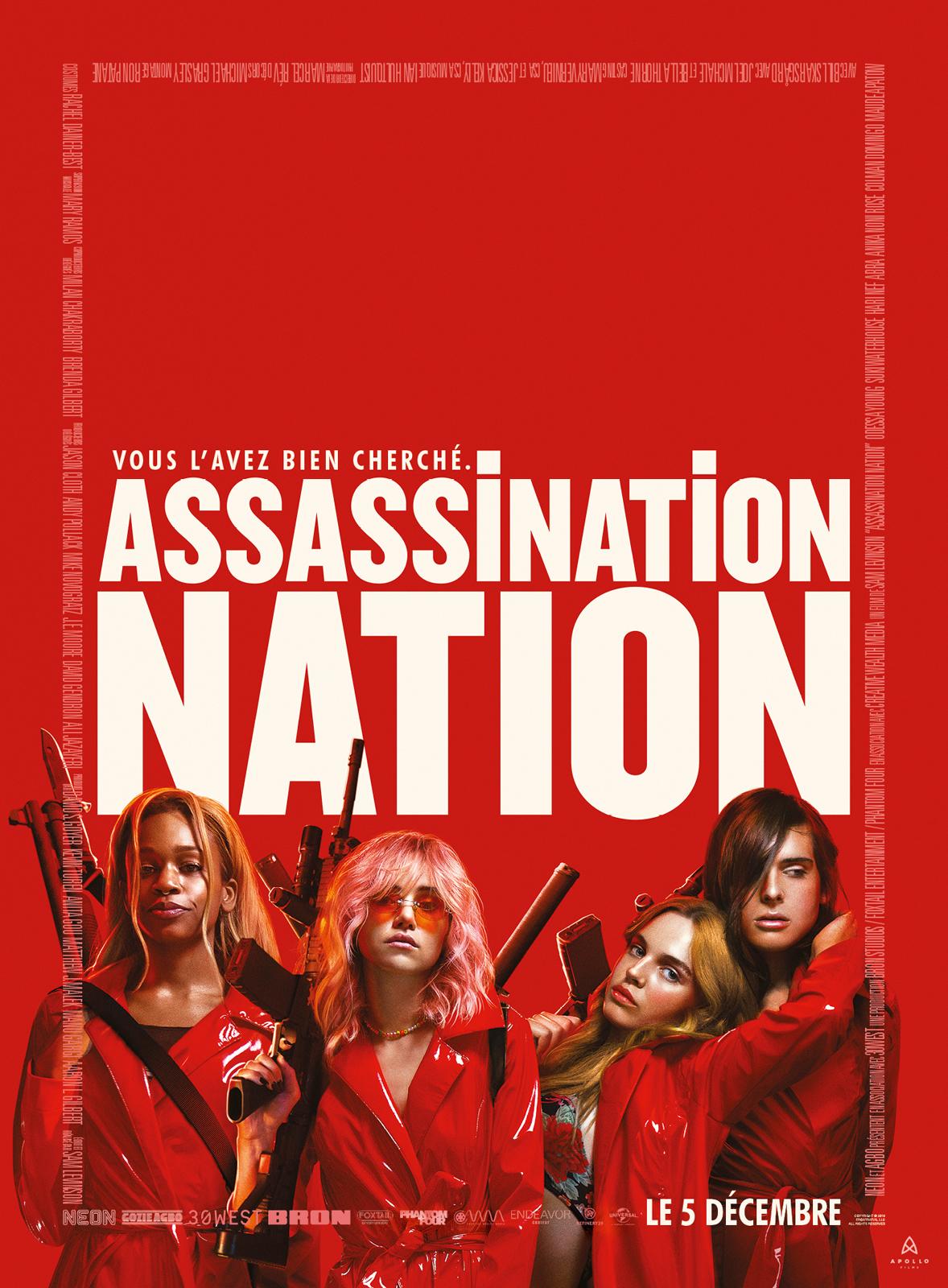 Assassination nation de Sam Levinson