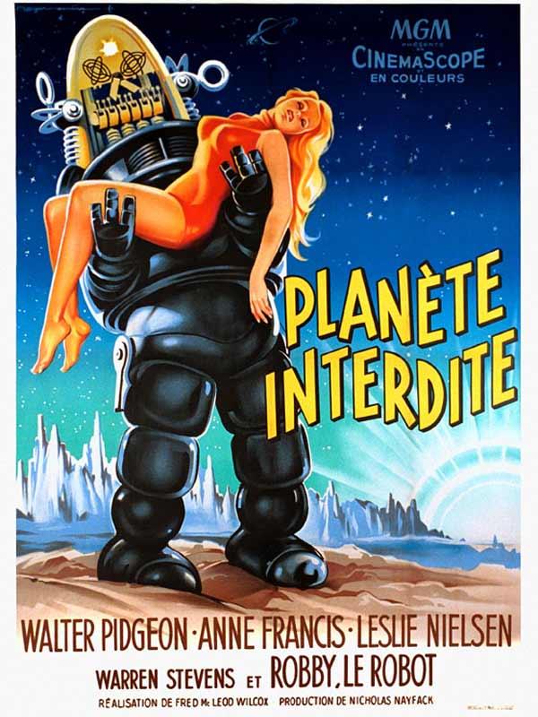Planète interdite (1956) de Fred McLeod Wilcox