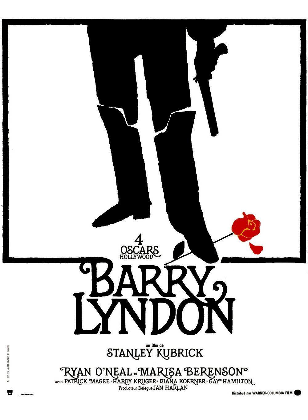Barry Lyndon (1975) de Stanley Kubrick