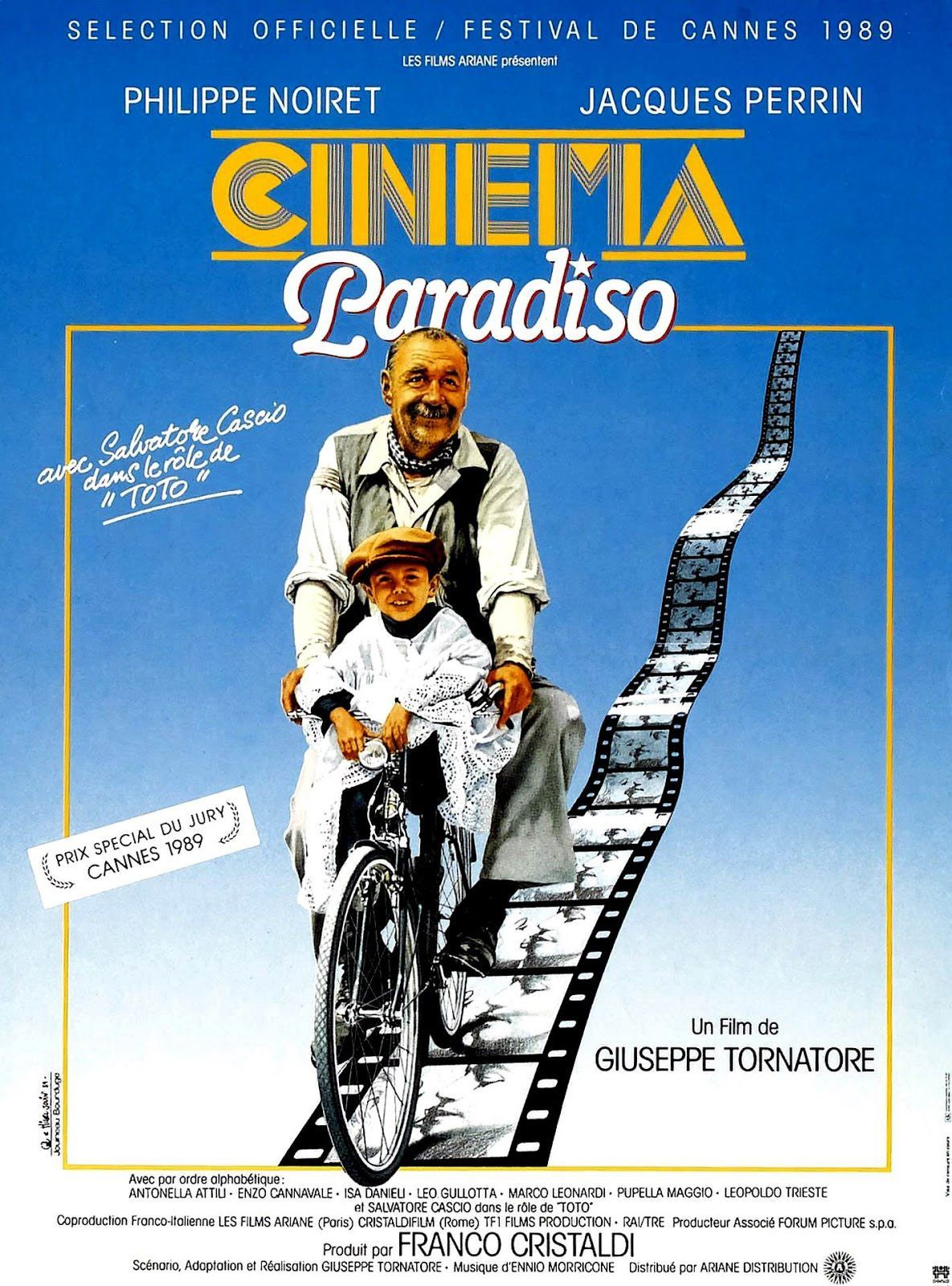 Cinéma paradiso de Giuseppe Tornatore