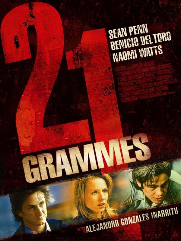 21 grammes d'Alejandro González Iñárritu