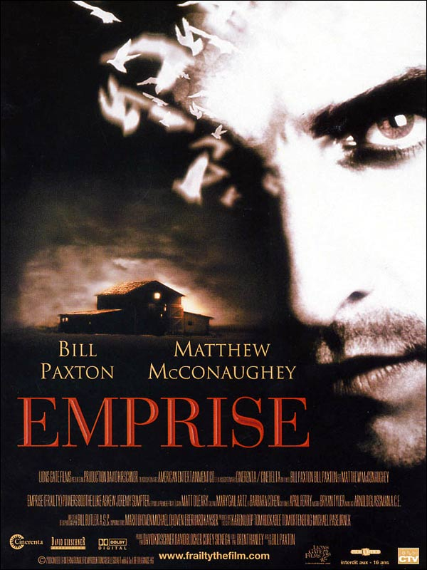 Emprise (2001) de Bill Paxton