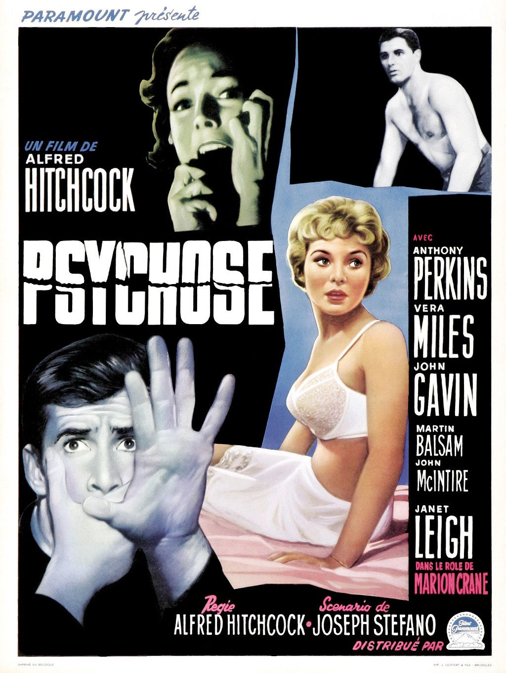 Psychose (1960) d'Alfred Hitchcock