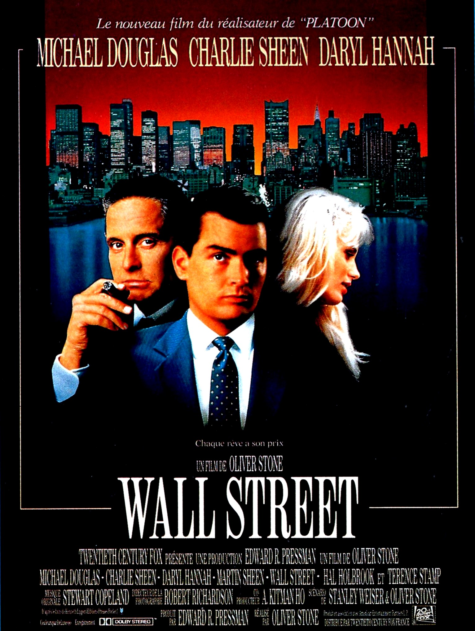 Wall Street d'Oliver Stone