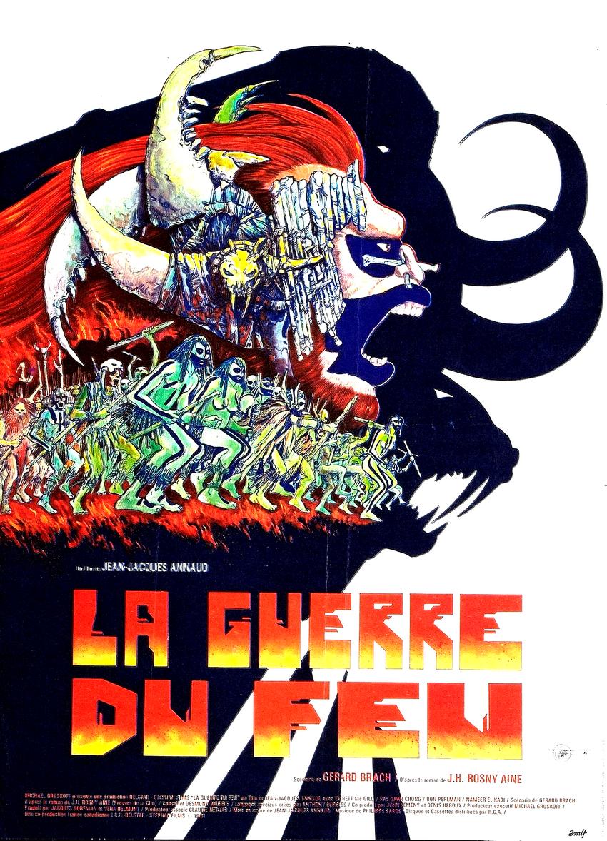 La Guerre du Feu de Jean-Jacques Annaud