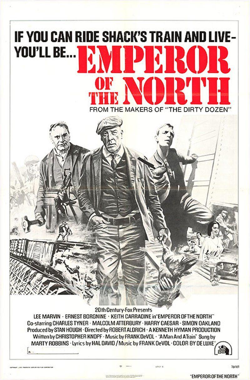 affiche us de L'Empereur du Nord (1973) de Robert Aldrich
