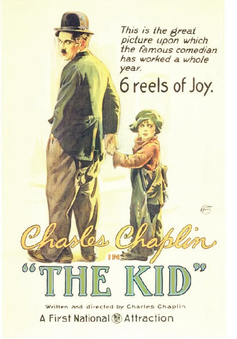 the_kid_chaplin_affiche