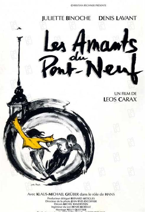 Les Amants du Pont Neuf de Leos Carax