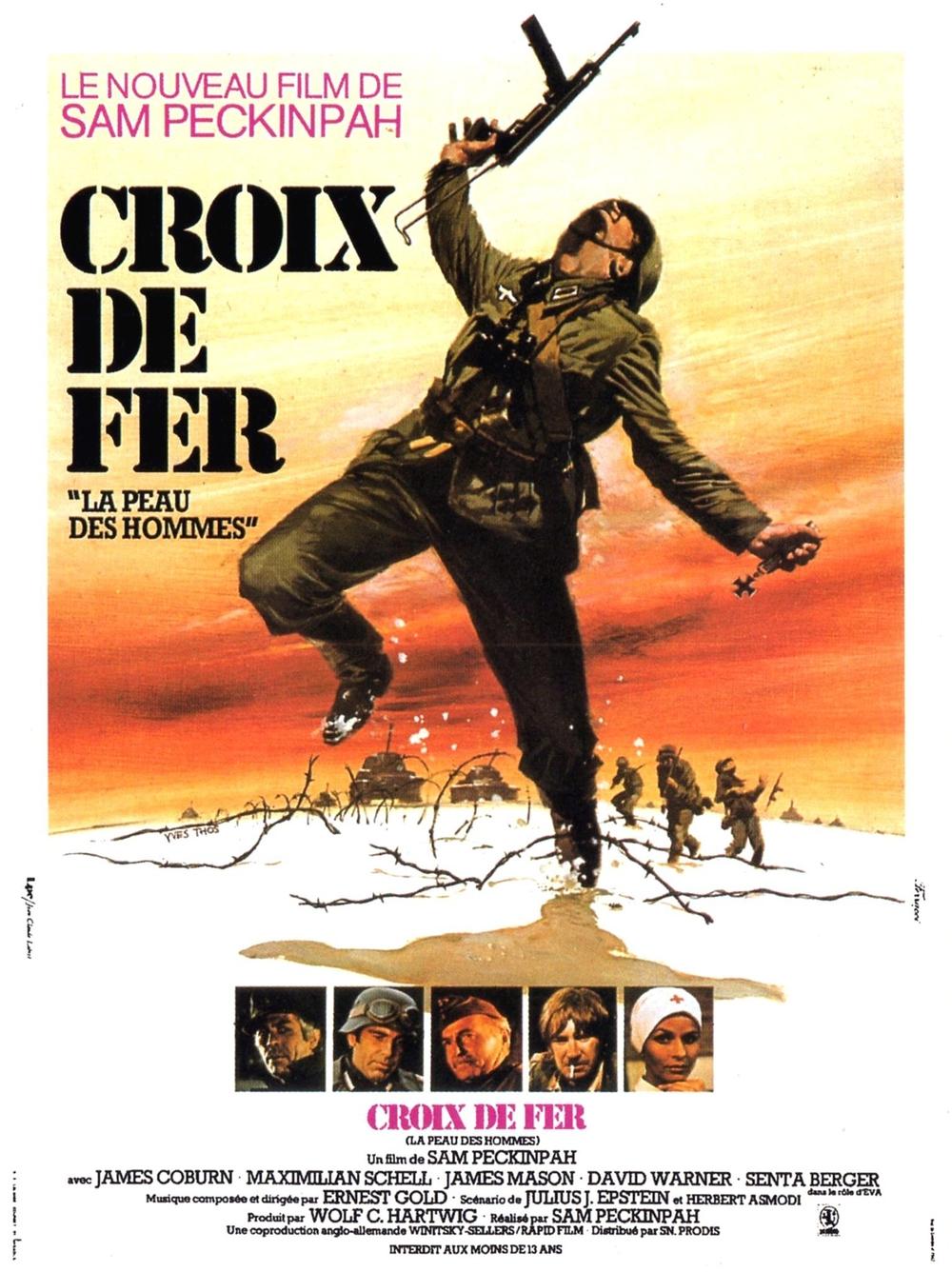 Croix de fer (1977) de Sam Peckinpah
