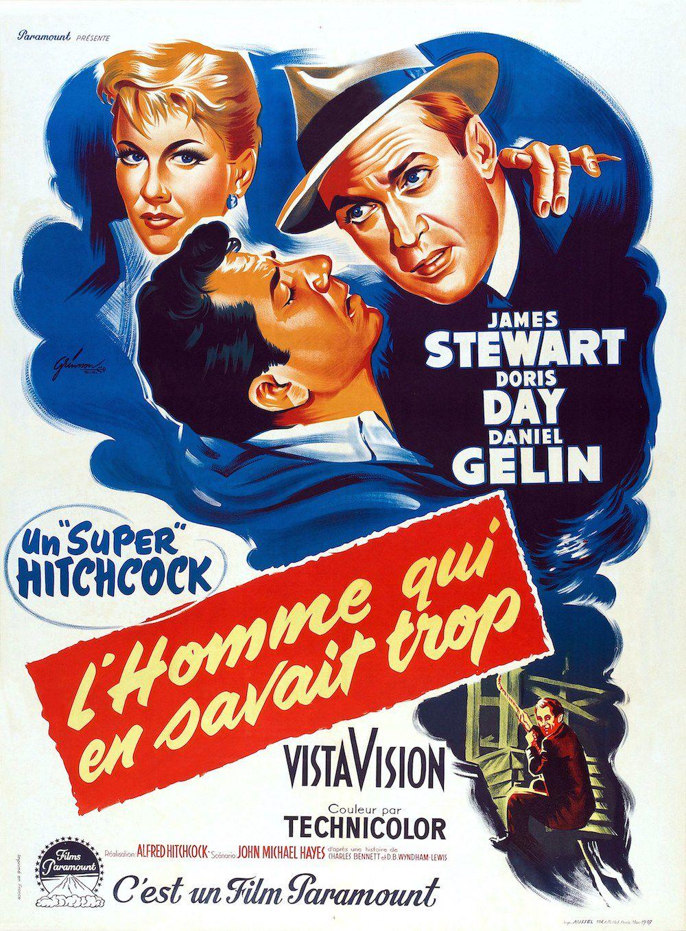 L'Homme qui en savait trop (1956) d'Alfred Hitchcock