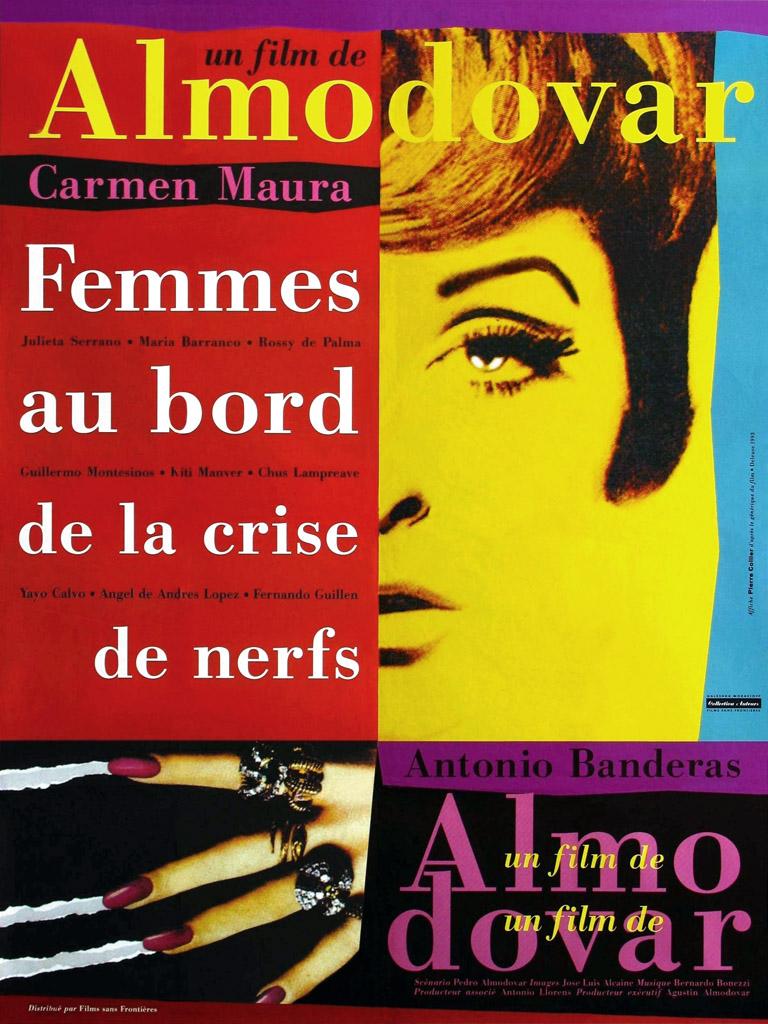 Femmes au bord de la crise de nerf de Pedro Almodovar