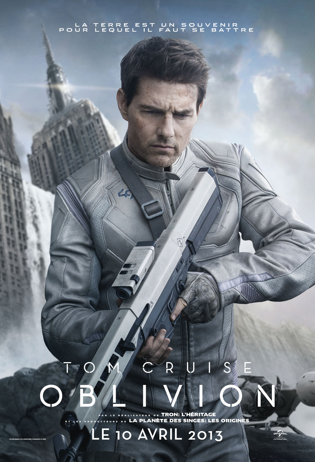 Oblivion (2013) de Joseph Kosinski