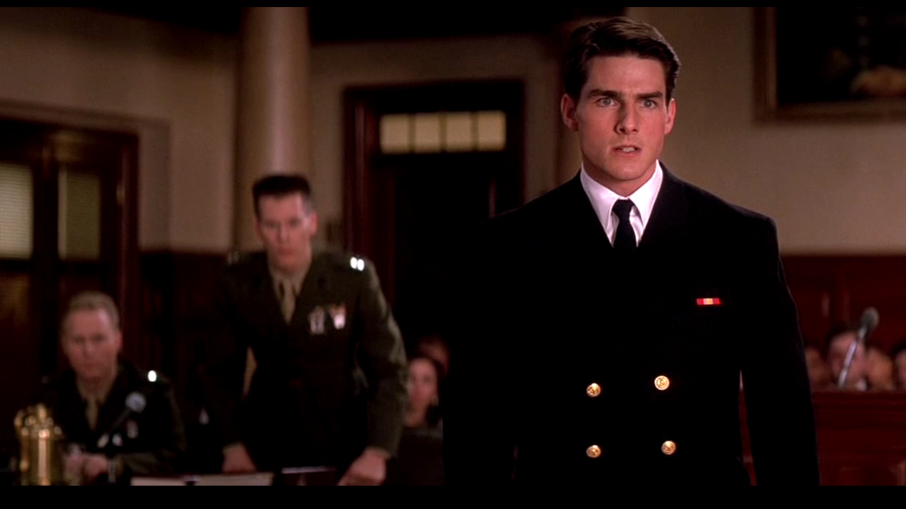 tom cruise dans Des hommes d'honneur (1992) de Rob Reiner
