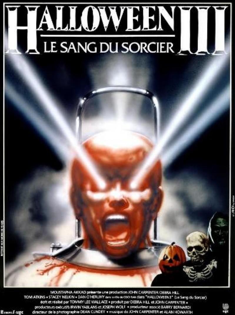 Halloween 3, le sang du sorcier (1982) de Tommy Lee Wallace