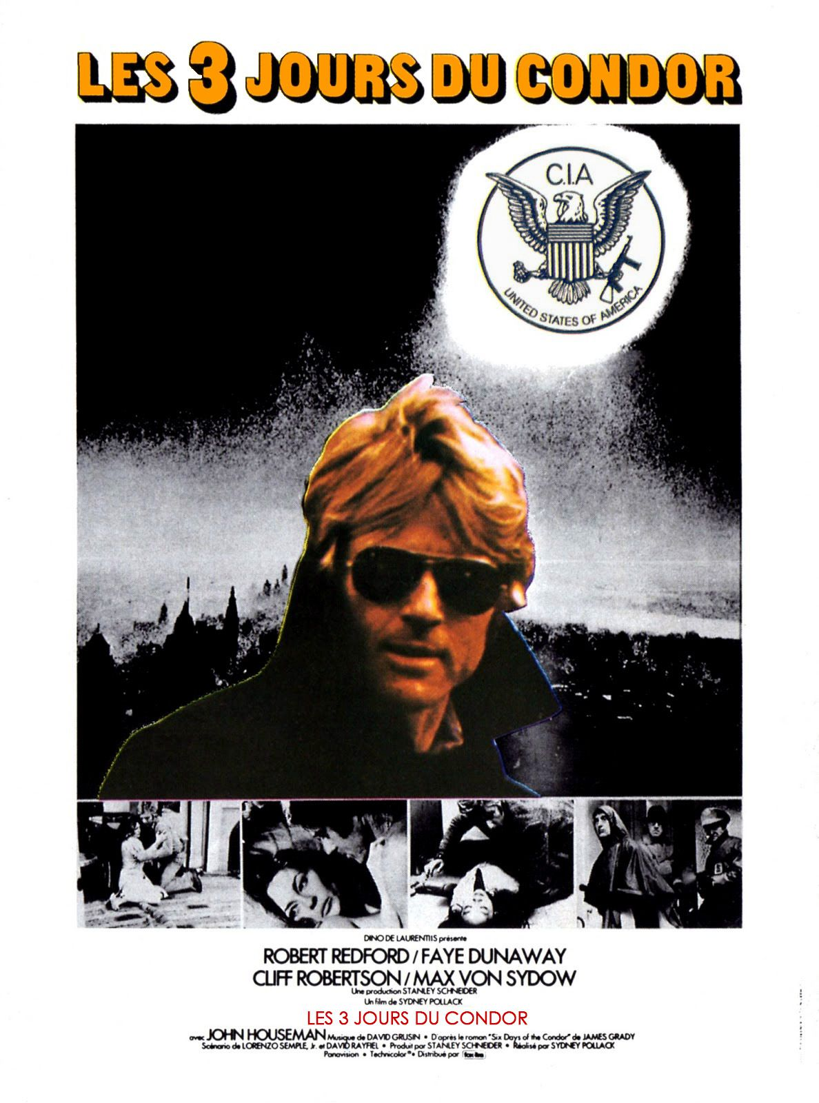 Les trois jours du condor (1975) de Sidney Pollack