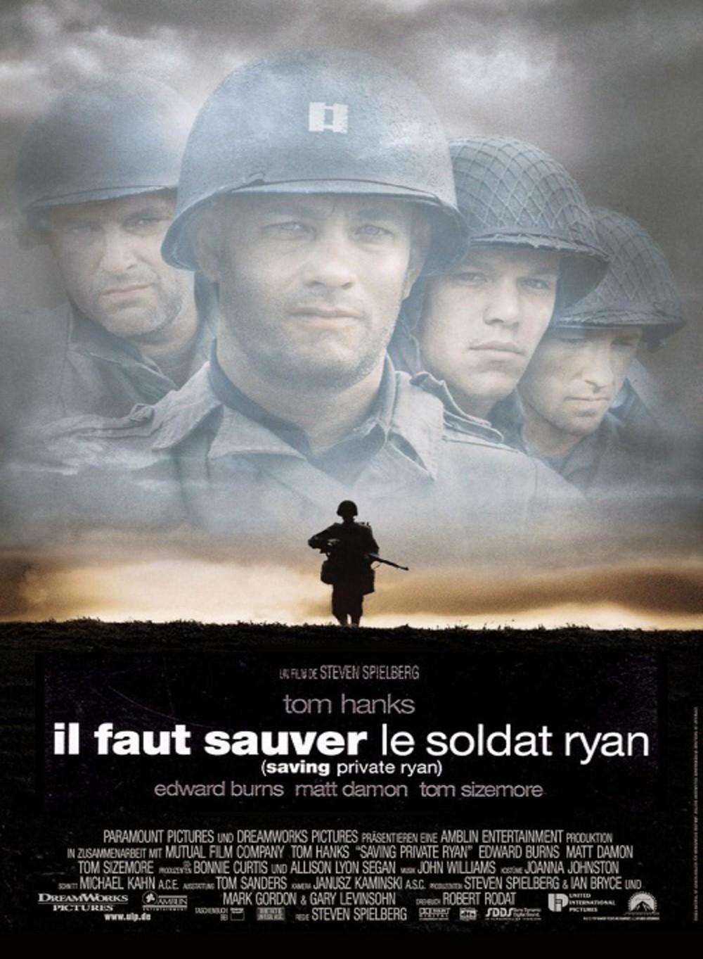Il faut sauver le soldat Ryan de Steven Spielberg