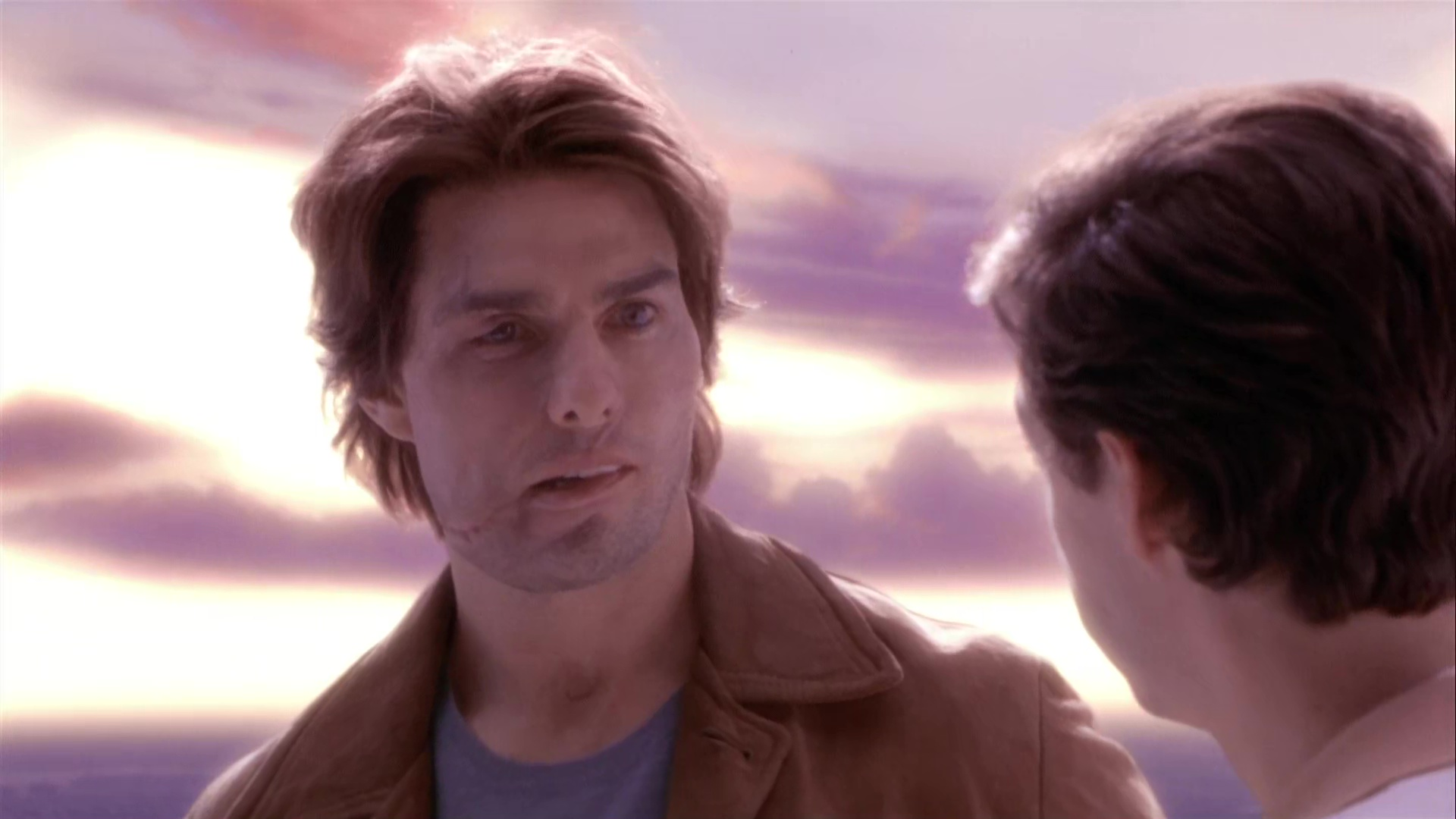 tom cruise dans Vanilla sky (2001) de Cameron Crowe