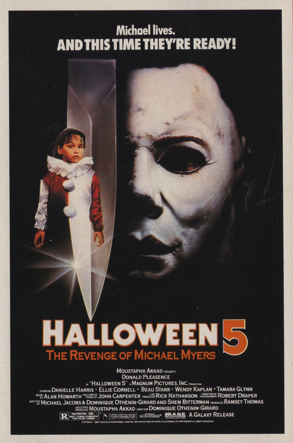 Halloween 5 (1989) de Dominique Othenin-Girard