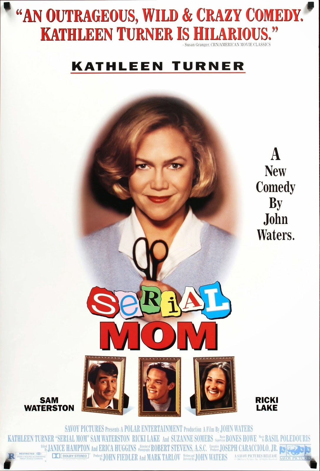 SERIAL MOM de John Waters