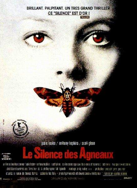 AFFICHE LE SILENCE DES AGNEAUX