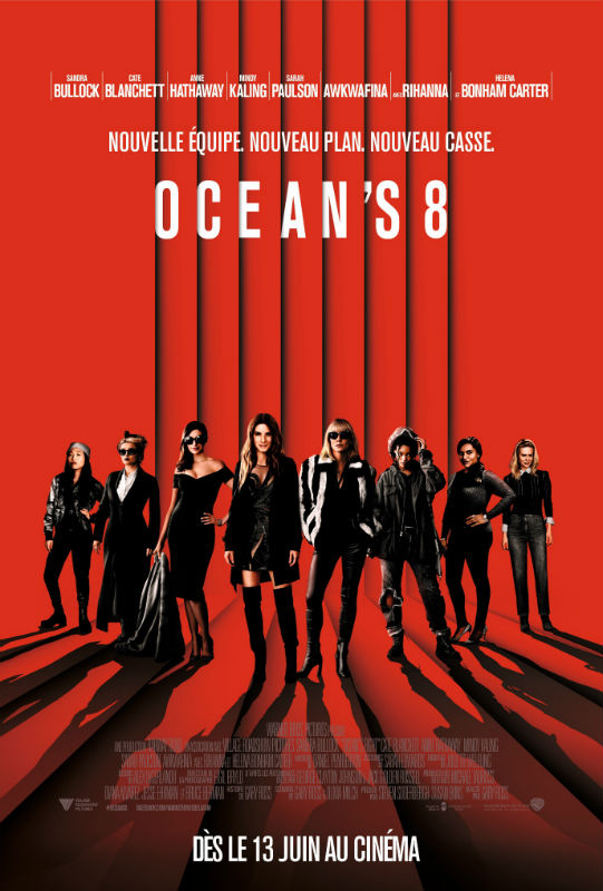 Ocean's 8 affiche