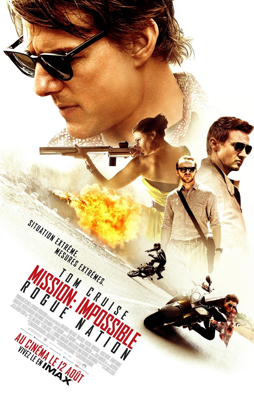 Mission : Impossible - Rogue Nation (2015) de Christopher McQuarrie