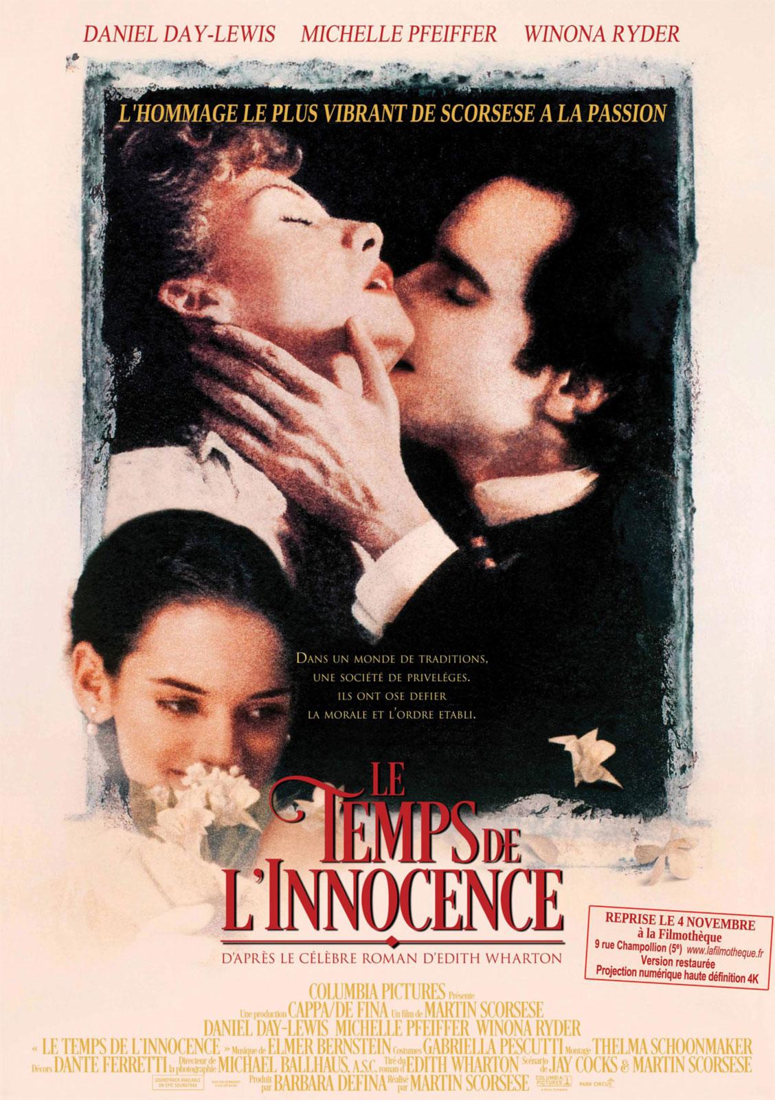 Le Temps de l'innocence de Martin Scorsese