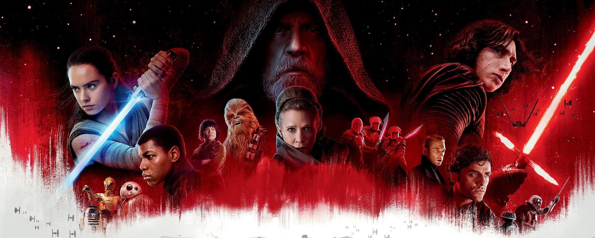 Star Wars Episode VIII, les derniers Jedi.