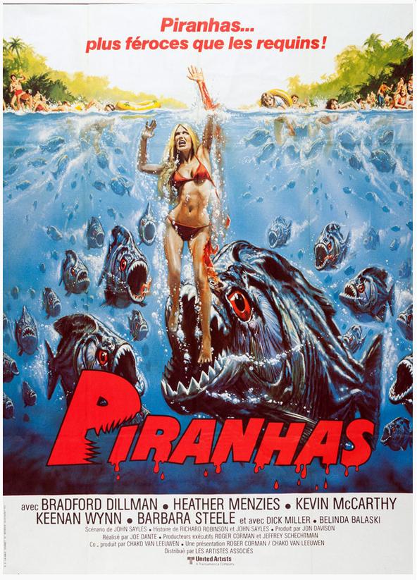 Piranhas (1978) de Joe Dante