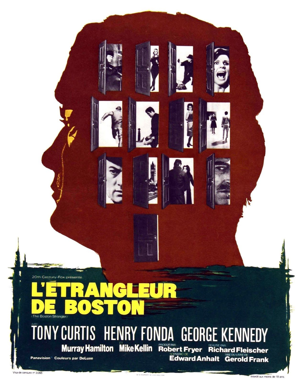 L'étrangleur de Boston (1968) de Richard Fleischer