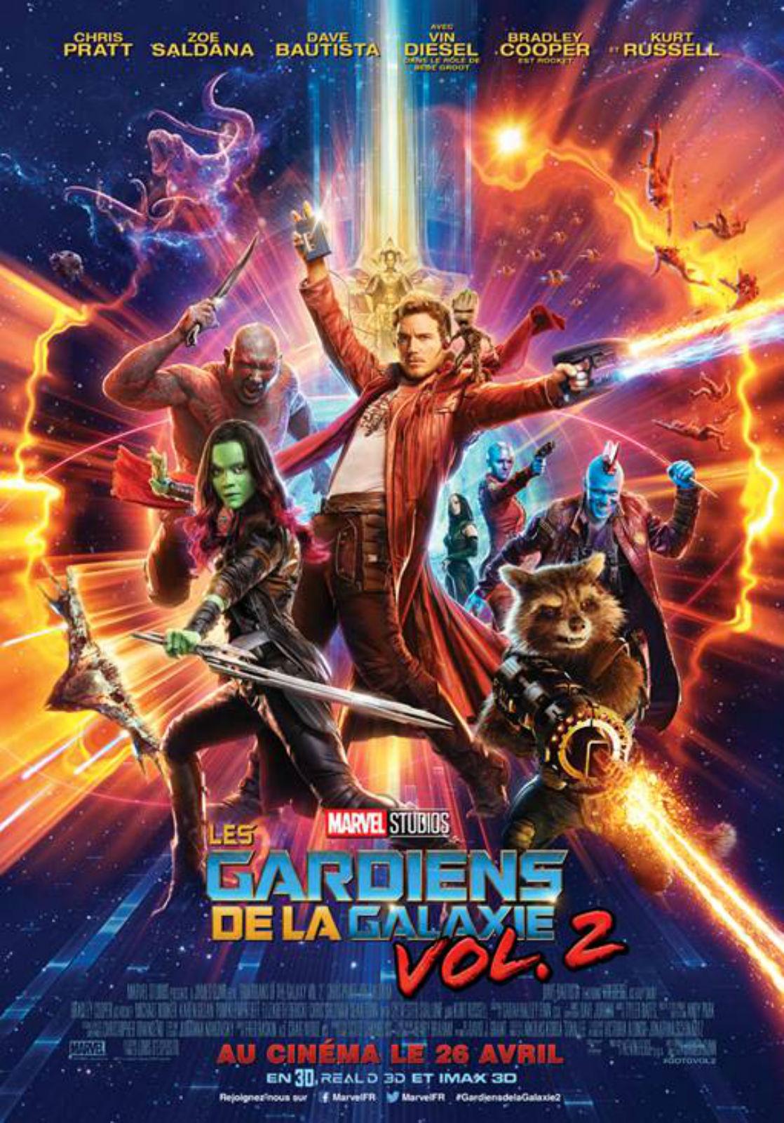 Les gardiens de la galaxie vol. 2 (2017) de James Gunn