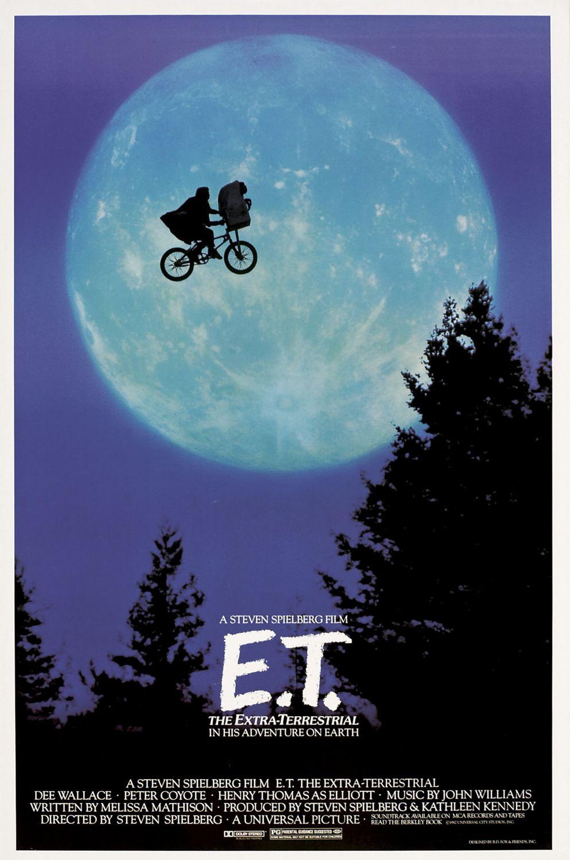 E.T. l'extraterrestre de Steven Spielberg