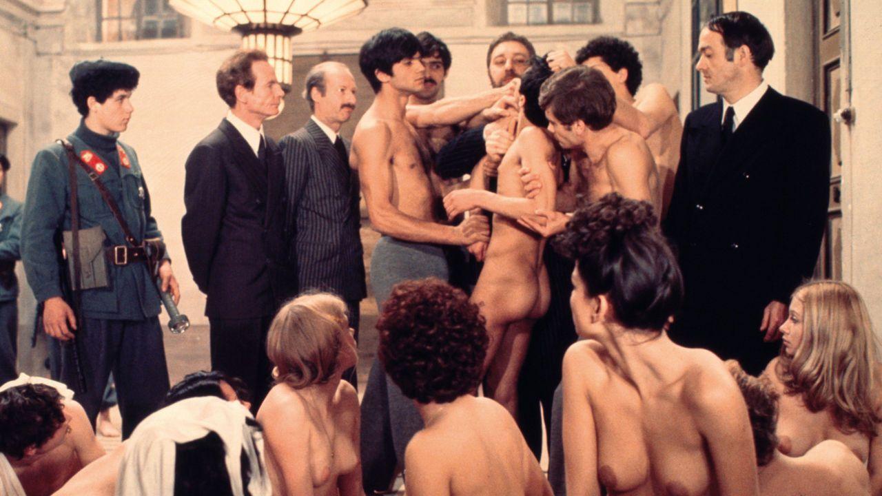 Salo ou les 120 journées de Sodome de Pier Paolo Pasolini.