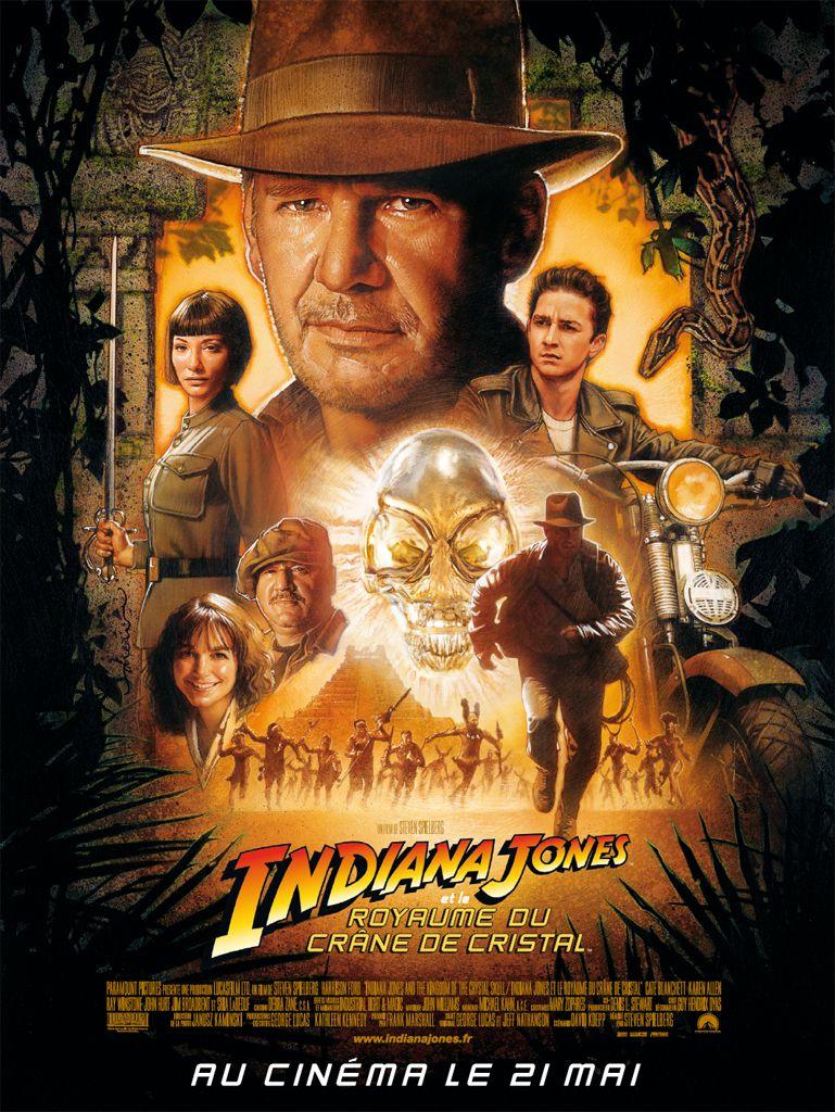 affiche Indiana Jones et le royaume du crâne de cristal (2008)